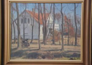 Rolandsgården. 1942. Maleri nr. 115
