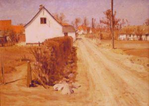 Smedestræde 9. 1942. Maleri nr. 198
