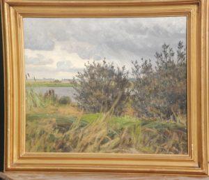 Løje Sø. 1918. Maleri nr. 29.