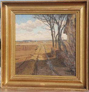 Ukendt sted. 1926. Maleri nr. 52.
