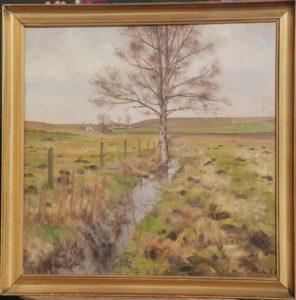 Brøns Mose 1938. Maleri nr. 61.