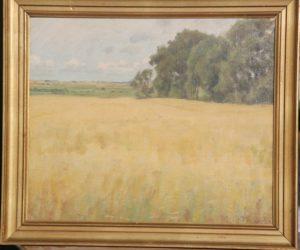 Marken syd for Kildebakken, set mod vest. 1946. Maleri nr. 69.