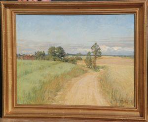 Måske Sigersdalsvej? 1917. Maleri nr. 70.