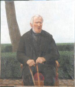 Thorvald Larsens morfar. Ukendt år. Maleri nr. 85.