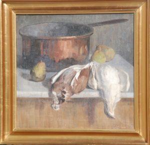 Efterårsmotiv. 1914. Maleri nr. 86.