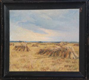 Høstmotiv. 1910. Maleri nr. 88.