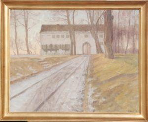 Ukendt sted. 1946. Maleri nr. 99.