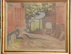 Hønsehus og skur på Kildebakken. 1933.