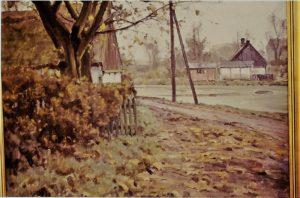 Hove Gadekær. 1942. Maleri nr. 67.