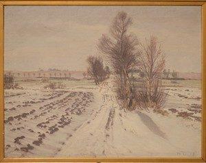 Muligvis øst for Vaselund og Præstesø. 1918.