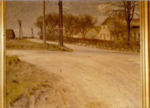 Pudebjerggård. 1944. Maleri nr. 217