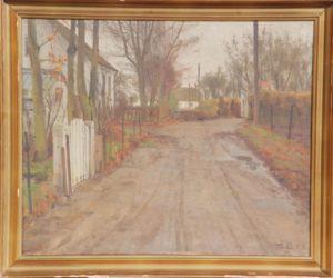 Fugleøjevej. 1943. Maleri nr. 130