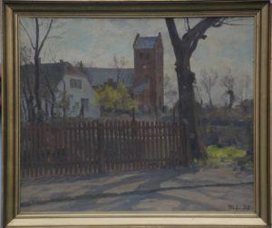 Stenløse Kirke. 1938. Maleri nr. 248
