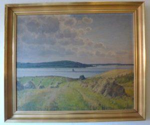 Fjorden ved Frederikssund. Maleri nr. 259